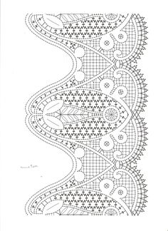 Bobbin Lace Patterns, Crochet Patterns, Bobbin Lacemaking, Needle Lace, Lace Making, Simple Art, String Art, Fiber Art, Projects To Try