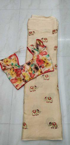 Blouse size 32 to 38 saree length 5.5