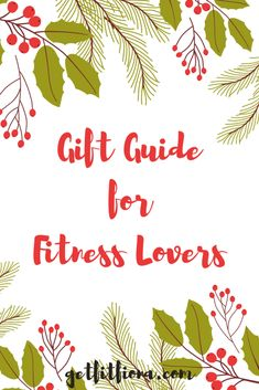 Today I'm sharing my top picks for the fitness minded people on your list this year. This gift guide for fitness lovers is sure to have something that they'll love. If you're local to Calgary, don't forget to check out Fitness Tips, Fitness Gear, All Things Christmas, Workout Gear, Gift Guide, About Me Blog, Lovers, Gifts, Calgary