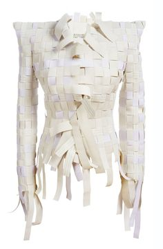 Weave - woven textile surfaces; fabric manipulation for fashion design // Maison Martin Margiela