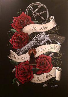 Stephen King - The Dark Tower The Gunslinger by KChampionArtist on Etsy