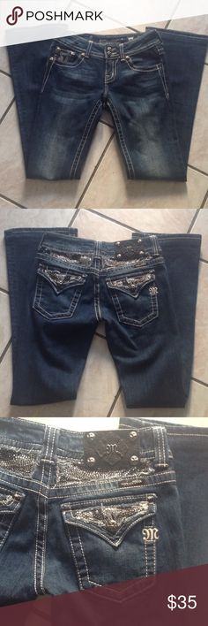 MISS ME JEAN Size 26 x 31 inseam, boot cut, style jp5124B, never used, smoke & pets free home 🏡, thanks for looking Miss Me Jeans Boot Cut