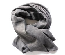 Scarf - Friday Charcoal - by Silk Route - www.legoutdescouleurs.be