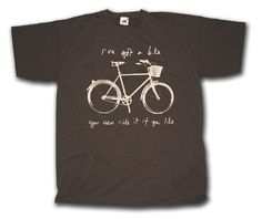 I've Got A Bike T shirt inspired by Syd Barrett