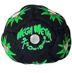 World Footbag Dirtbag Mega Metal Hacky Sack Footbag  Black -- More info could be found at the image url. (This is an affiliate link)