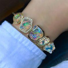 Water Opal Bracelet