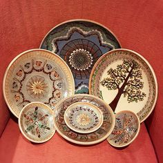 The ridiculous intricacy of pottery master Costel Popa from Horezu Romania by maryageorgescu Decorative Plates, Pottery, Ceramics, Instagram Posts, Design, Ornaments, Cooking, Ceramica, Ceramica