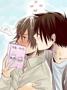 Kawaii couple Nowaki & hiroki #yaoi