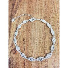 Diamond Ariana Grande Inspired Choker Stargaze Jewelry ($45) ❤ liked on Polyvore featuring jewelry, diamond jewellery, holiday jewelry, cocktail jewelry, evening jewelry and diamond jewelry