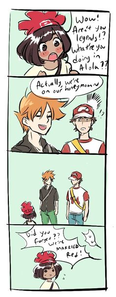 Red x Blue I don't ship it but this comic is funny