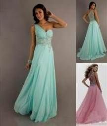 Nice long teal prom dresses