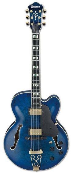 Ibanez AF255BM-BLG Artstar Hollow Body Electric Guitar | Blue Lagoon Finish www.guitaristica.org #electricguitar #guitars #guitaristica