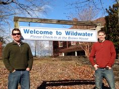 Welcome aboard! Bobby Foster and Lloyd Smith are the new managers at Wildwater Adventure Center of Asheville!