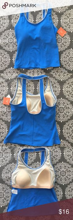 Lands End Blue Tankini Bathing Suit Top NWT Great item to bundle with matching bathing suit bottom. Slight size difference. See my closet for the other listing.  Perfect NWT tags. Suburb Lands End quality. Lands' End Swim Bikinis