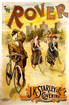 POSTER CINCINNATI OH ENJOY BIKE RIDE BICYCLE WINGS CYCLING VINTAGE REPRO FREE SH