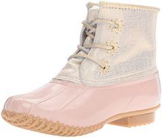 Jack Rogers Womens Chloe Rain Boot Blush 11 M US *** To view further for this item, visit the image link.