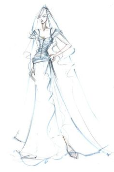 Makány Márta sketch Fashion Sketches, Art Sketches, All The Princesses, Portraits, Queens, All About Time, Battle, Pencil, Princess Zelda
