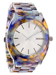 GIFT IDEA: Nixon TheTimeTeller Acetate Women