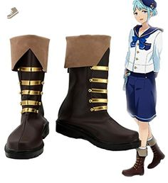 Ensemble Stars Shino Hajime Cosplay Shoes Boots Custom Made - Telacos sneakers for women (*Amazon Partner-Link)