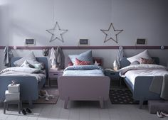 Vintage-inspired bed // by Cyrillus