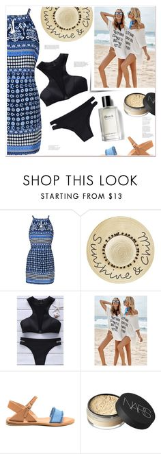 """""""Sunshine Chic"""" by mycherryblossom ❤ liked on Polyvore featuring Betsey Johnson, NARS Cosmetics and Bobbi Brown Cosmetics"""