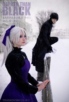 Yin and Hei. Darker than Black
