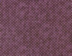 coupon-de-Tissu-patchwork-MODA-petits-pois-sur-fond-raisin-24x55cm