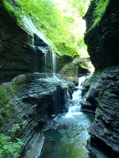Watkins Glen - Rainbow Falls