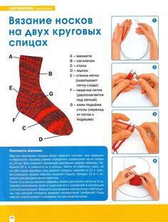 View album on Yandex. Knitting Socks, Hand Knitting, Knitting Patterns, Knit Socks, Crochet Motifs, Knit Crochet, Project Free, Knitted Slippers, Handicraft
