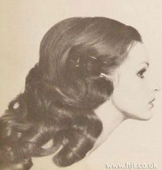 1950s Hairdos for Long Hair | 1950's - 1960's : Hairstyles for Long Hair - the ... | VINTAGE HAIRST ...