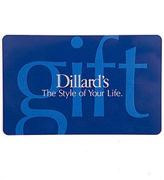 Dillard's The Style of Your Life Everyday Gift Card