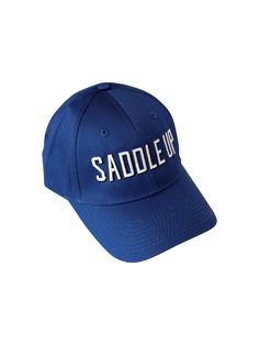 "Our ""Saddle Up"" Design is sporty enough for the gym, but still equestrian! Equestrian, Baseball Hats, Sporty, Gym, Accessories, Design, Fashion, Moda, Baseball Caps"