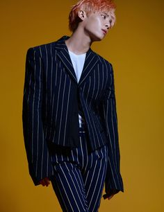 Jonghyun (SHINee) - Harper's Bazaar Magazine June Issue '16