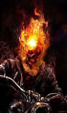 Concept Art World » Ghost Rider: Spirit of Vengeance Concept Art by Jerad S. Marantz