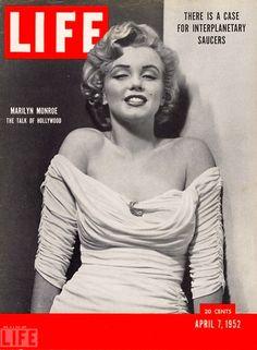 Marilyn Monroe, Portada revista LIFE, abril 7 de 1952.