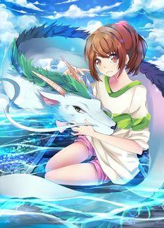 Spirited Away, Haku,