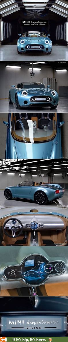 Now this is a MINI I would want. The Mini Superleggera Vision | MINI Cooper | MINI Mod