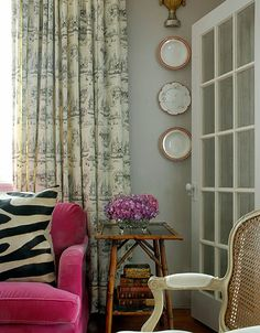 Upholstered chairs Pop of color and Home decor on Pinterest