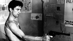 Taxi Driver: Robert De Niro in 1976. Yumm.