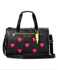 Take a look at this Black   Red Heart Duffel Bag today! Latest Outfits cddb2779cdbc0