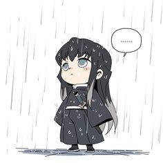 Demon Slayer( Kimetsu No Yaiba) Photo+memes - Hashira in rain - Wattpad Anime Angel, Anime Demon, Kawaii Anime, Cute Anime Chibi, Manga Anime, Anime Art, Demon Slayer, Slayer Anime, Dark Fantasy