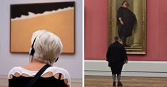 """Most of us were bored at some museum at least once in our lives - except this guy! France-based photographer Stefan Draschan always keeps himself entertained at art galleries by creating his own art projects. One of those projects is """"People matching artworks"""". Although at first Draschan's images seem perfectly staged, the secret behind them is actually patience."""
