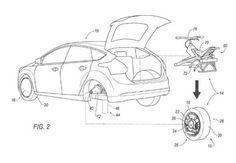 Ford brevetta l'auto con una ruota che diventa un motociclo, e non è uno scherzo | DDay.it