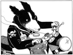 From the book: Understanding Border Collies, Carol Price (Illustration: Drew Marland)