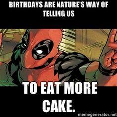 65241570c097e7f99e8f41cc64326a06 deadpool love th birthday happy birthday deadpool pinterest deadpool, happy birthday