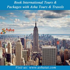 Book International Tours & packages with Asha Tours & Travels. For more details, Visit: www.ashatat.com. Call us for more details: 09833477689/09920033687 & Email us at info@ashatat.com, sales@ashatat.com.#Asha #Tours #Travels #Book #International #Packages