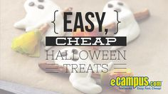 Bring the most memorable #Halloween treats to this year's party! Here are some creative and inexpensive food and drink recipes.