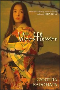 Weedflower by Cynthia Kadohata. YA lit about the internment of Japanese and Japanese-American people during WWII.