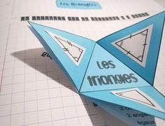Leçon à manipuler sur les triangles – Tablettes & Pirouettes Triangle Isocèle, Special Kids, Montessori, Homeschool, Classroom, Science, Teaching, Calculus, Math Class