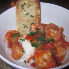 New Orleans style shrimp and rice!